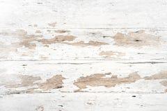 Gammal och för grunge vit wood textur arkivbilder