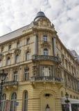 Gammal och härlig arkitektur av Budapest, Ungern, Europa royaltyfria bilder