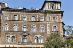 Gammal och härlig arkitektur i Budapest, Ungern arkivfoto