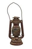 Gammal olje- lampa Royaltyfria Bilder