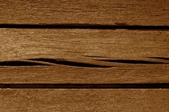 Gammal orange färg red ut wood plankor Royaltyfri Fotografi