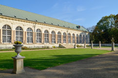 Gammal orangeri, Warszawa (Polen) Arkivbild