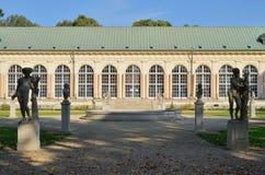 Gammal orangeri, Warszawa (Polen) Arkivfoton