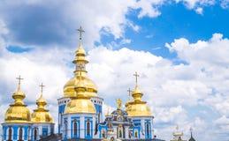 Gammal ortodox domkyrka i Kiev Royaltyfri Foto