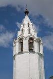 Gammal ortodox himmel för klockatorn Royaltyfria Foton