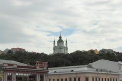 Gammal ortodox kyrka Arkivbild