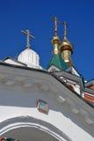 Gammal ortodox kyrka kolomna kremlin russia Arkivbilder