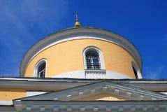 Gammal ortodox kyrka kolomna kremlin russia Royaltyfri Bild