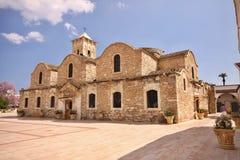 Gammal ortodox kyrka, Larnaca, Cypern Arkivbilder