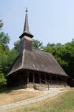 Gammal ortodox träkyrka Fotografering för Bildbyråer