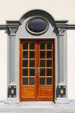gammal ottoman för dörr Arkivbilder