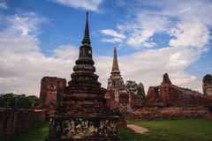 gammal pagoda Royaltyfri Foto