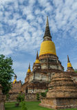 gammal pagoda Fotografering för Bildbyråer