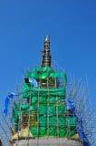 gammal pagodarenovering Royaltyfri Fotografi