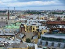 gammal panorama för stad jpeg Arkivbild