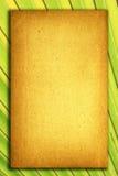 Gammal Paper anteckningsbok för text och bakgrund Royaltyfria Bilder