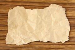 gammal paper etikett Arkivbild