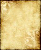 gammal paper parchment Arkivfoton