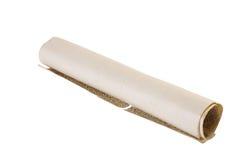 gammal paper scroll Royaltyfri Bild