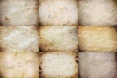 gammal paper textur Royaltyfri Bild