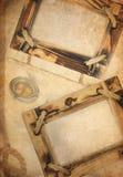 gammal paper texturwhite för bakgrund Royaltyfri Bild
