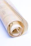 Gammal pappers- snirkel royaltyfria bilder