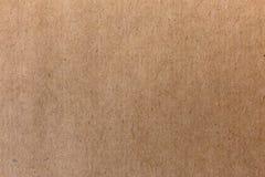 Gammal pappers- textur för hantverk Grov bakgrund för tappning royaltyfri bild