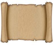 gammal papre för manuskript Fotografering för Bildbyråer