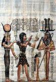 gammal papyrus Royaltyfria Foton