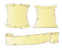 Gammal papyrus Royaltyfri Fotografi