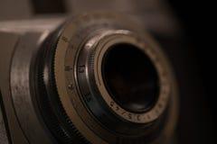 gammal parallell kamera arkivfoto