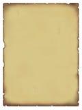 gammal parchment Fotografering för Bildbyråer