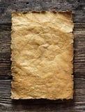 Gammal parchment royaltyfri bild