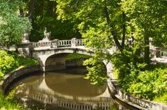 Gammal park Royaltyfria Foton