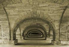 gammal passage Royaltyfri Bild