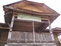 Gammal pavillion i HadYai, Songkhla, Thailand Royaltyfri Bild