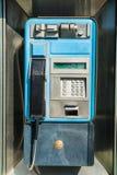 gammal payphone Royaltyfri Fotografi