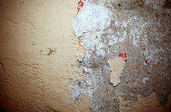 Gammal peelväggbakgrund och texturerar royaltyfri fotografi