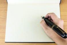 gammal penna royaltyfri bild