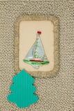 Gammal period för julleksakpapp 1950-1960 Arkivbild