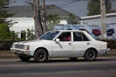 Gammal personbil, Mitsubishi Galant arkivfoton