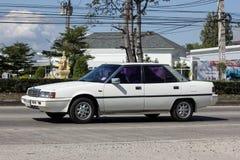 Gammal personbil, Mitsubishi Galant arkivbilder