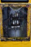 gammal petrolpump Arkivfoton