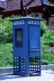 gammal phonebooth Arkivbilder