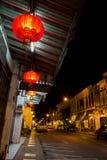 Gammal Phuket stad fotografering för bildbyråer