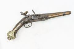 Gammal pistol royaltyfria bilder