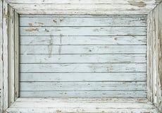 gammal planka för ram Arkivbild