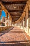 gammal plaza sevilla spain stad de espana för berömd landmark royaltyfri bild