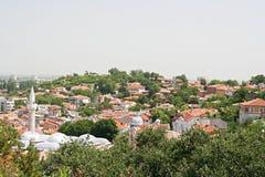 gammal plovdiv town Fotografering för Bildbyråer