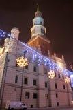 gammal poland poznan town Royaltyfria Foton